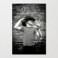Juvenile Jazz 3 Canvas Print