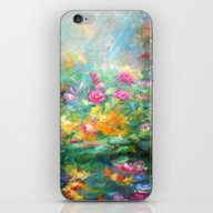 Roses Paint  iPhone & iPod Skin