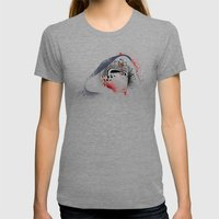 A New Leader Womens Fitted Tee Tri-Grey SMALL