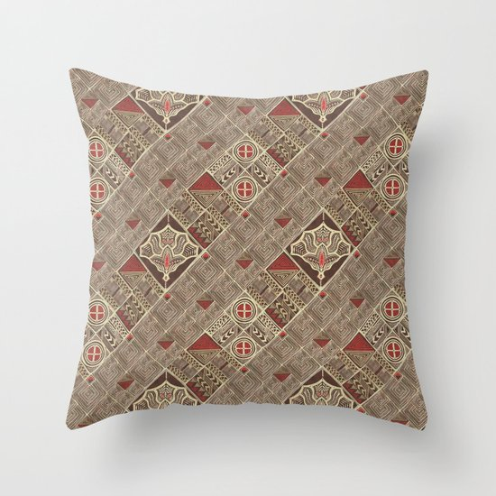 Granada (african version) Throw Pillow