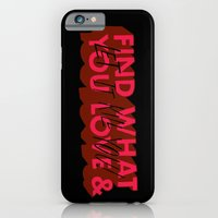 Let it kill you. iPhone 6 Slim Case