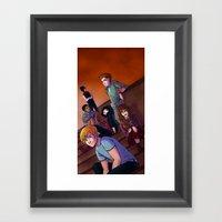 The Class Group Shot Framed Art Print