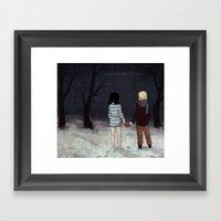 Lettherightonein Framed Art Print