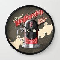 Drink Wolfenstein Wall Clock