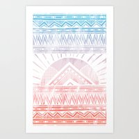 Surf Morning Art Print