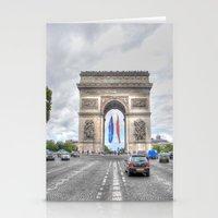 Arc de Triomphe 1 Stationery Cards
