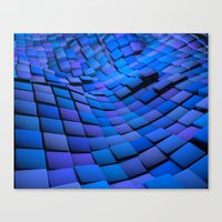 Blue Valley Canvas Print