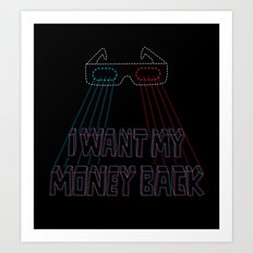 Hollywood Swindle Art Print