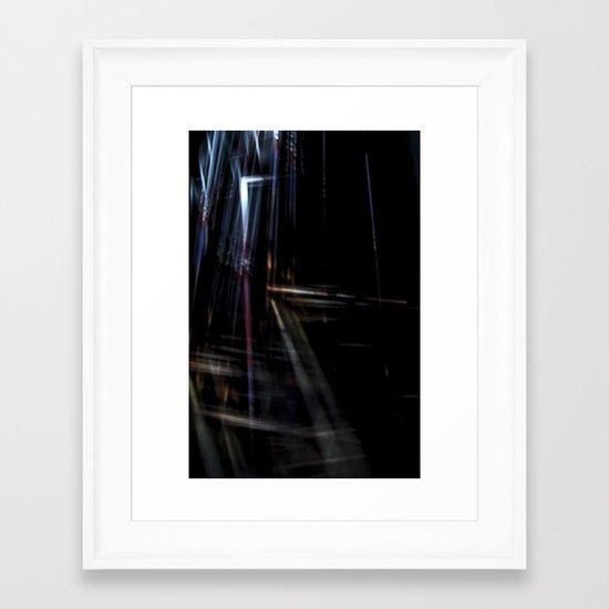 Discordata Framed Art Print