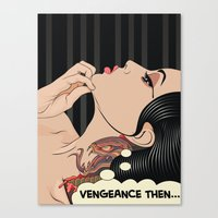 Lady Vengeance Canvas Print