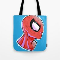 The Amazing Spider-Bust Tote Bag