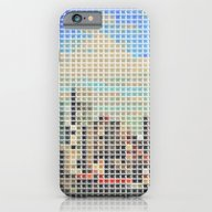 iPhone & iPod Case featuring Radio City (mosaic Of Li… by Robotic Ewe