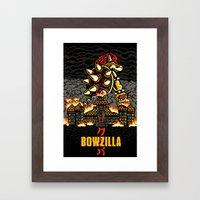 BOWZILLA Framed Art Print