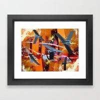 Yeci Framed Art Print
