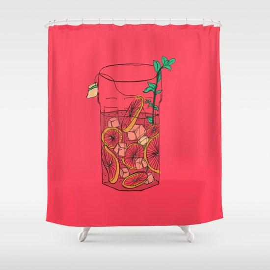 SunTea Shower Curtain