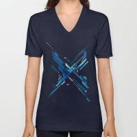 Geometric - Collage Love Unisex V-Neck
