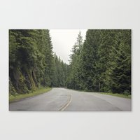 Lonely Road. Canvas Print