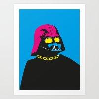 Pop The Dark! Art Print