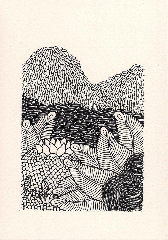 Mini Mountain  Canvas Print
