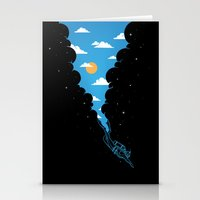 Skydiver Stationery Cards