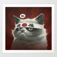 Hai! Art Print