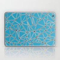 Shattered Ab Blue Laptop & iPad Skin