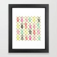 Tropic Pineapple Framed Art Print