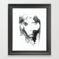 Thoughts Of Amy Framed Art Print