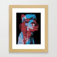 Bestial Mind Framed Art Print