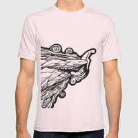 On the edge Mens Fitted Tee Light Pink SMALL