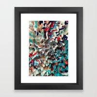 Weird Surface Framed Art Print