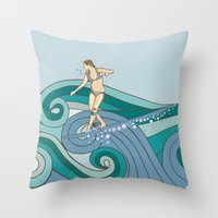 Expression Session Throw Pillow