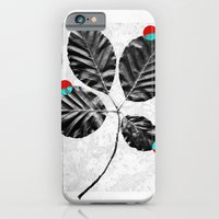iPhone & iPod Case featuring Abstract Flowers 4 by Mareike Böhmer Graphics
