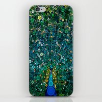 :: Peacock Caper :: iPhone & iPod Skin