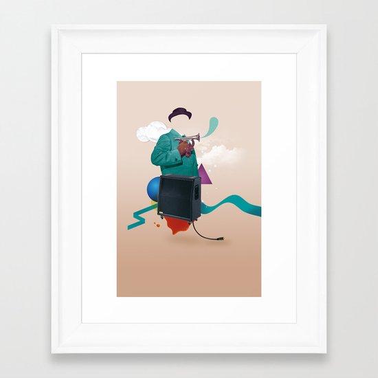 ILOVEMUSIC #2 Framed Art Print