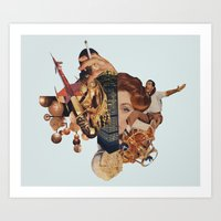 Intergalatic.... Art Print