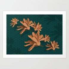Mother's Magnolia 09 Art Print