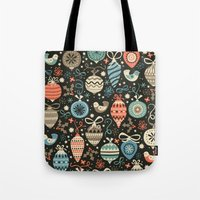Festive Folk Charms Tote Bag