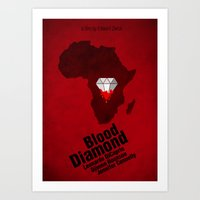 Blood Diamond Poster Art Print