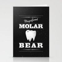 Molar Bear (Gentlemen's … Stationery Cards