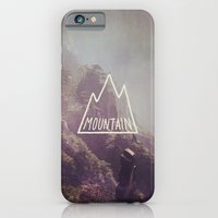 Mountain Lettering iPhone 6 Slim Case