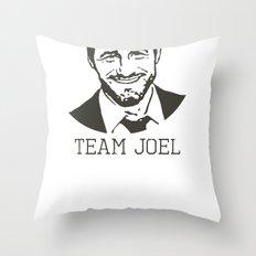 Team Joel Throw Pillow