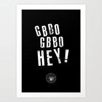 GBBO GBBO HEY Art Print