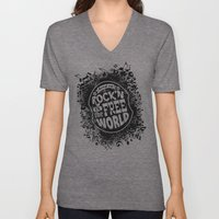 Keep On Rock'n!  Unisex V-Neck