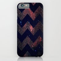 iPhone & iPod Case featuring Chevron Sky by Little_Biscuit