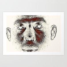 TWILIGHT FACE Art Print