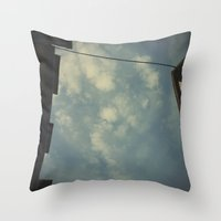 but a glance disperses the most wonderful meetings. Throw Pillow