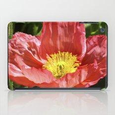 Red Poppy I iPad Case