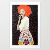 Isadora Art Print