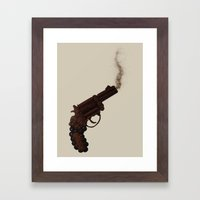 Death By Chocolate Framed Art Print